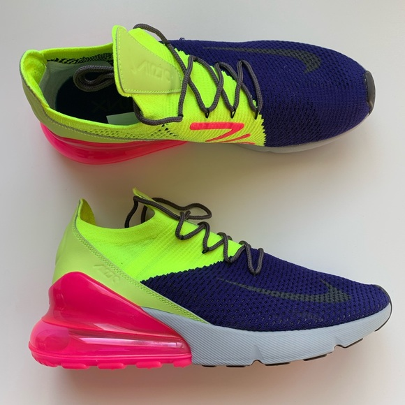 quality design 125ea 2ae47 Men's Nike Air Max 270 Flyknit Shoes NWT